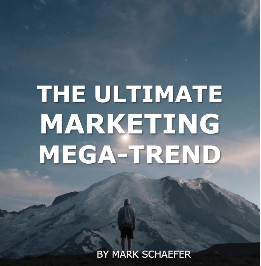 All signs point to this one marketing mega-trend